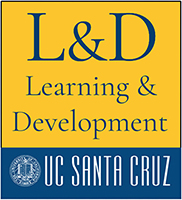 Learning & Development included with the UC Santa Cruz Logo