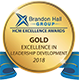 Image of the Brandon Hall Excellence Award